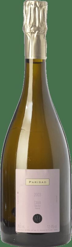 27,95 € Free Shipping | White sparkling Can Ràfols Parisad Gran Reserva D.O. Cava Catalonia Spain Macabeo, Xarel·lo, Chardonnay Bottle 75 cl