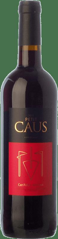 7,95 € Free Shipping | Red wine Can Ràfols Petit Caus Negre Joven D.O. Penedès Catalonia Spain Tempranillo, Merlot, Syrah, Cabernet Sauvignon, Cabernet Franc Bottle 75 cl
