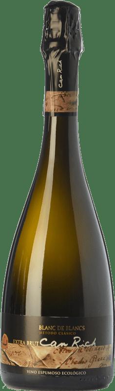 12,95 € | White sparkling Can Rich Blanc de Blancs Reserva I.G.P. Vi de la Terra de Ibiza Balearic Islands Spain Malvasía Bottle 75 cl