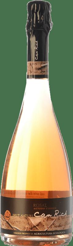 12,95 € | Rosé sparkling Can Rich Extra Brut I.G.P. Vi de la Terra de Ibiza Balearic Islands Spain Syrah Bottle 75 cl