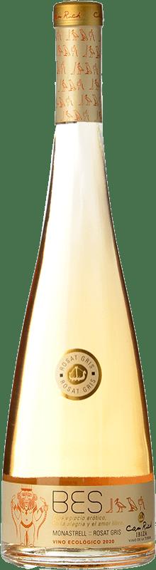 12,95 € 免费送货   玫瑰酒 Can Rich Bes I.G.P. Vi de la Terra de Ibiza 巴利阿里群岛 西班牙 Monastrell 瓶子 75 cl