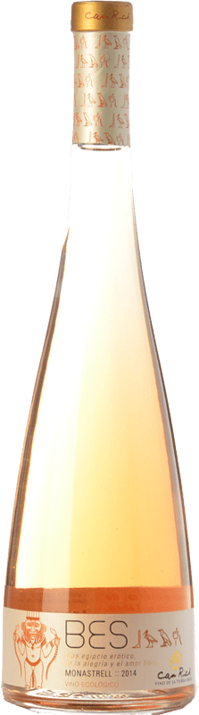 12,95 € Free Shipping | Rosé wine Can Rich Bes I.G.P. Vi de la Terra de Ibiza Balearic Islands Spain Monastrell Bottle 75 cl