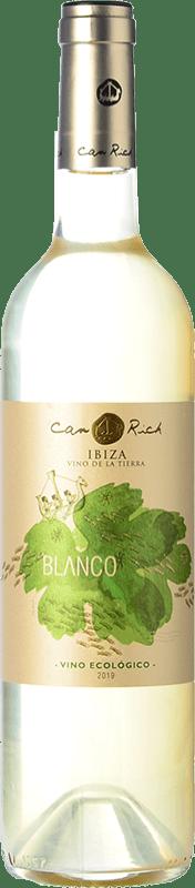 11,95 € | White wine Can Rich I.G.P. Vi de la Terra de Ibiza Balearic Islands Spain Malvasía, Chardonnay Bottle 75 cl