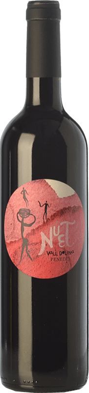 6,95 € | Red wine Can Tutusaus Nuet Negre Joven D.O. Penedès Catalonia Spain Marcelan Bottle 75 cl
