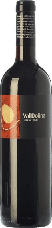 8,95 € | Red wine Can Tutusaus Vall Dolina Merlot Joven D.O. Penedès Catalonia Spain Merlot, Cabernet Sauvignon Bottle 75 cl