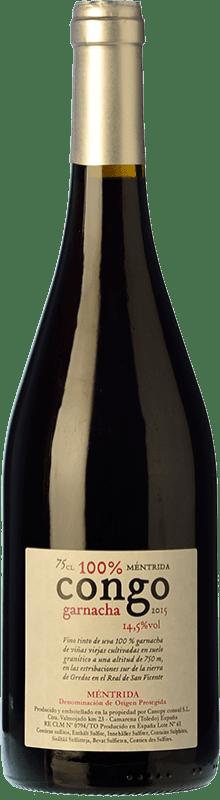 45,95 € 免费送货 | 红酒 Canopy Congo Crianza D.O. Méntrida 卡斯蒂利亚 - 拉曼恰 西班牙 Grenache 瓶子 75 cl
