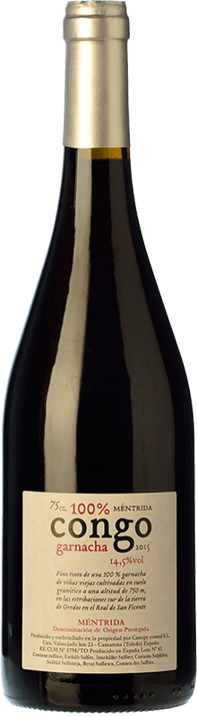 45,95 € | Red wine Canopy Congo Crianza 2009 D.O. Méntrida Castilla la Mancha Spain Grenache Bottle 75 cl