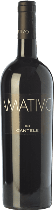 16,95 € | Red wine Cantele Amativo I.G.T. Salento Campania Italy Primitivo, Negroamaro Bottle 75 cl
