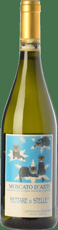 15,95 € Free Shipping | Sweet wine Cantina del Glicine Nettare di Stelle D.O.C.G. Moscato d'Asti Piemonte Italy Muscatel White Bottle 75 cl