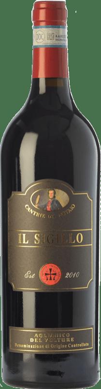 35,95 € | Red wine Cantine del Notaio Il Sigillo D.O.C. Aglianico del Vulture Basilicata Italy Aglianico Bottle 75 cl