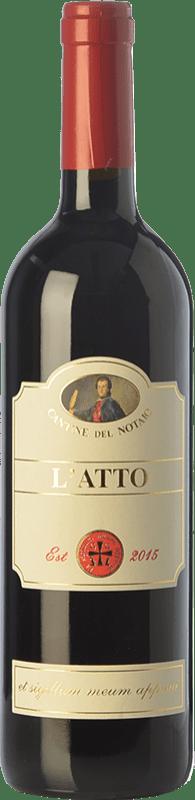 15,95 € Free Shipping   Red wine Cantine del Notaio L'Atto I.G.T. Basilicata Basilicata Italy Aglianico Bottle 75 cl