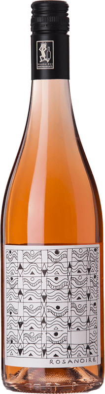 14,95 € Free Shipping | Rosé wine Cantrina Rosanoire D.O.C. Garda Lombardia Italy Pinot Black Bottle 75 cl