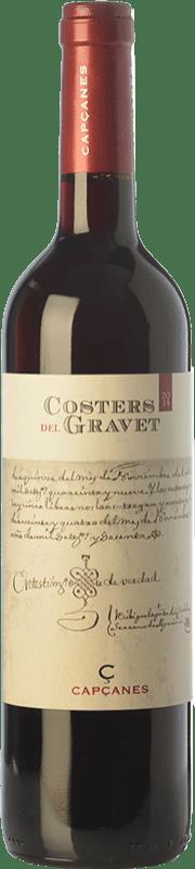 34,95 € Free Shipping | Red wine Capçanes Costers del Gravet Crianza D.O. Montsant Catalonia Spain Grenache, Cabernet Sauvignon, Carignan Magnum Bottle 1,5 L