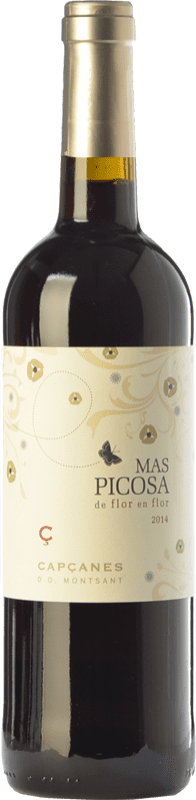 8,95 € Free Shipping | Red wine Capçanes Mas Picosa de Flor en Flor Joven D.O. Montsant Catalonia Spain Tempranillo, Merlot, Grenache, Samsó Bottle 75 cl