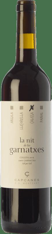14,95 € Free Shipping | Red wine Capçanes Nit de les Garnatxes Calissa Joven D.O. Montsant Catalonia Spain Grenache Bottle 75 cl