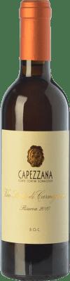44,95 € Free Shipping | Sweet wine Capezzana Riserva Reserva I.G.T. Vin Santo di Carmignano Tuscany Italy Trebbiano, San Colombano Half Bottle 37 cl