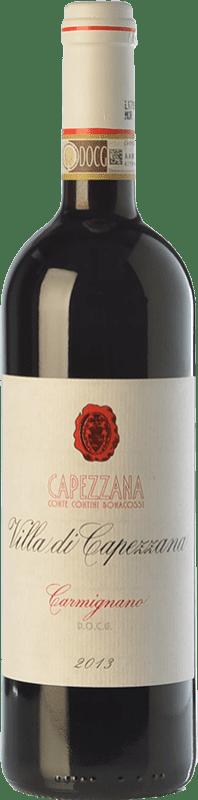 28,95 € Free Shipping | Red wine Capezzana Villa di Capezzana D.O.C.G. Carmignano Tuscany Italy Cabernet Sauvignon, Sangiovese Bottle 75 cl