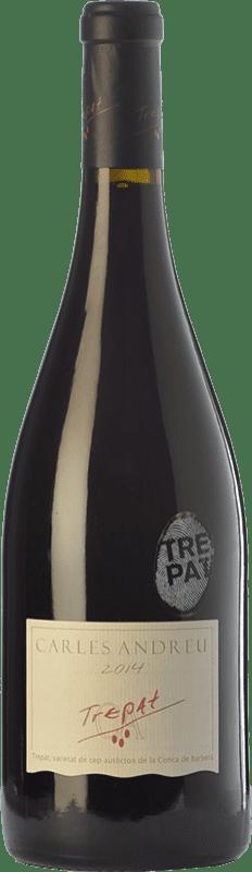 13,95 € Free Shipping | Red wine Carles Andreu Joven D.O. Conca de Barberà Catalonia Spain Trepat Bottle 75 cl