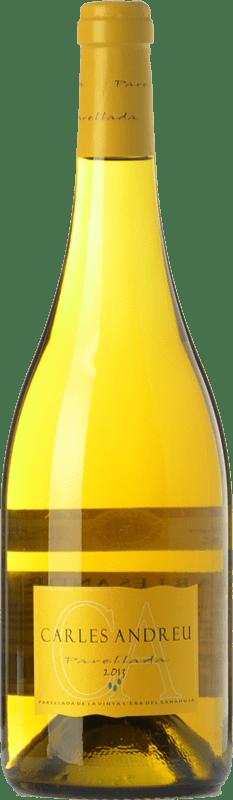 9,95 € Free Shipping | White wine Carles Andreu D.O. Conca de Barberà Catalonia Spain Parellada Bottle 75 cl