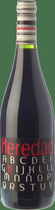 5,95 € | Red wine Carlos Valero Heredad H Joven D.O. Campo de Borja Aragon Spain Grenache Bottle 75 cl