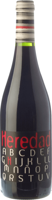5,95 € Free Shipping | Red wine Carlos Valero Heredad H Joven D.O. Campo de Borja Aragon Spain Grenache Bottle 75 cl