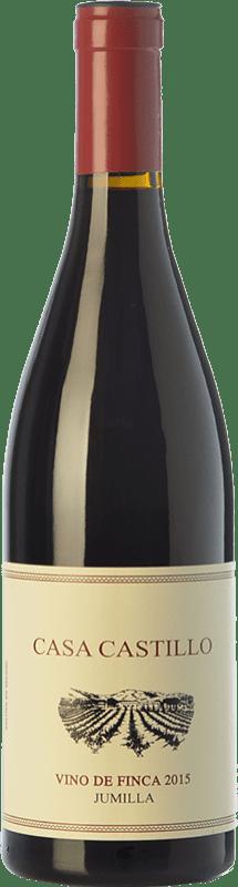 11,95 € 免费送货 | 红酒 Casa Castillo Vino de Finca Crianza D.O. Jumilla 卡斯蒂利亚 - 拉曼恰 西班牙 Grenache, Monastrell 瓶子 75 cl