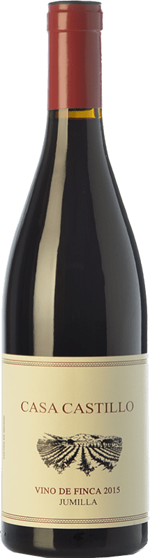 11,95 € Envío gratis | Vino tinto Casa Castillo Vino de Finca Crianza D.O. Jumilla Castilla la Mancha España Garnacha, Monastrell Botella 75 cl