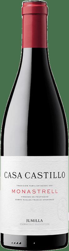 9,95 € Envío gratis | Vino tinto Casa Castillo Joven D.O. Jumilla Castilla la Mancha España Syrah, Garnacha, Monastrell Botella 75 cl