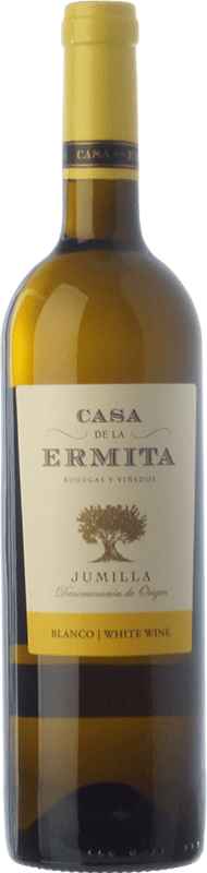 5,95 € Envoi gratuit | Vin blanc Casa de la Ermita D.O. Jumilla Castilla La Mancha Espagne Viognier Bouteille 75 cl
