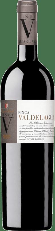 9,95 € Free Shipping | Red wine Casa del Valle Finca Valdelagua Crianza I.G.P. Vino de la Tierra de Castilla Castilla la Mancha Spain Merlot, Syrah, Cabernet Sauvignon Bottle 75 cl