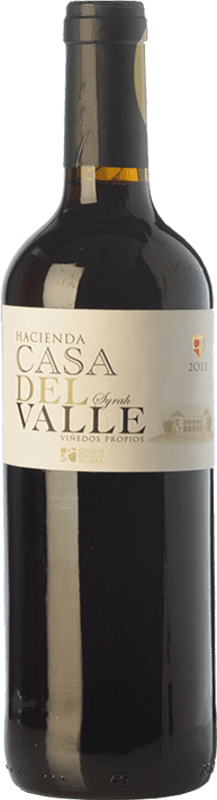 7,95 € Envoi gratuit | Vin rouge Casa del Valle Hacienda Joven I.G.P. Vino de la Tierra de Castilla Castilla La Mancha Espagne Syrah Bouteille 75 cl
