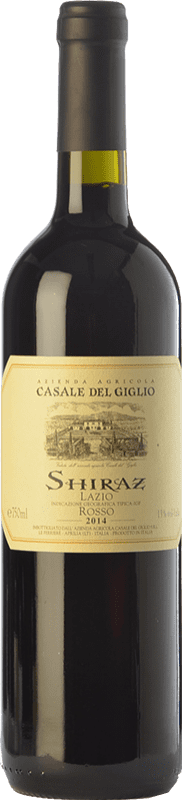 8,95 € Free Shipping | Red wine Casale del Giglio Shiraz I.G.T. Lazio Lazio Italy Syrah Bottle 75 cl