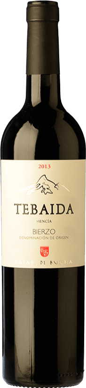 Rotwein Casar de Burbia Tebaida Crianza 2012 D.O. Bierzo Kastilien und León Spanien Mencía Flasche 75 cl
