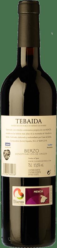 24,95 € | Red wine Casar de Burbia Tebaida Crianza D.O. Bierzo Castilla y León Spain Mencía Bottle 75 cl