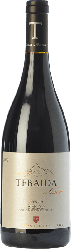 Spedizione Gratuita | Vino rosso Casar de Burbia Tebaida Nemesio Crianza 2012 D.O. Bierzo Castilla y León Spagna Mencía Bottiglia 75 cl