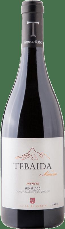 Envío gratis | Vino tinto Casar de Burbia Tebaida Nemesio Crianza 2012 D.O. Bierzo Castilla y León España Mencía Botella 75 cl