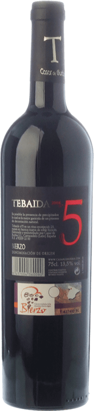 49,95 € Free Shipping   Red wine Casar de Burbia Tebaida Pago 5 Crianza D.O. Bierzo Castilla y León Spain Mencía Bottle 75 cl