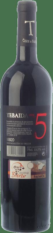 49,95 €   Vino rosso Casar de Burbia Tebaida Pago 5 Crianza 2010 D.O. Bierzo Castilla y León Spagna Mencía Bottiglia 75 cl