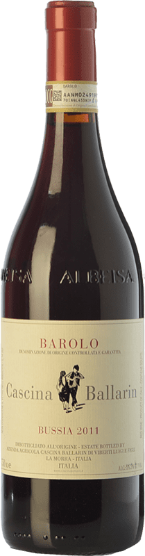 55,95 € Free Shipping | Red wine Cascina Ballarin Bussia D.O.C.G. Barolo Piemonte Italy Nebbiolo Bottle 75 cl