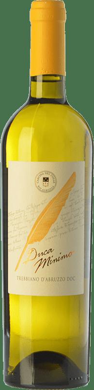 9,95 € Free Shipping | White wine Cascina del Colle Ducaminimo D.O.C. Trebbiano d'Abruzzo Abruzzo Italy Trebbiano Bottle 75 cl