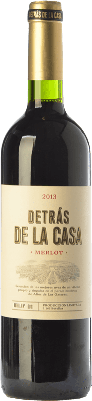 15,95 € | Red wine Castaño Detrás de la Casa Crianza D.O. Yecla Region of Murcia Spain Merlot Bottle 75 cl