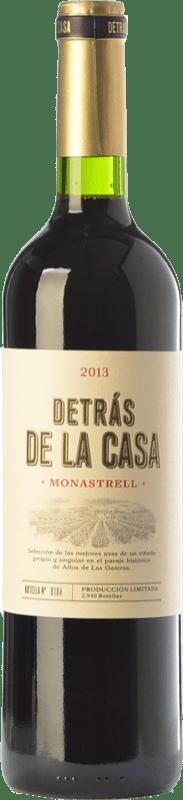 18,95 € Envío gratis | Vino tinto Castaño Detrás de la Casa Crianza D.O. Yecla Región de Murcia España Monastrell Botella 75 cl