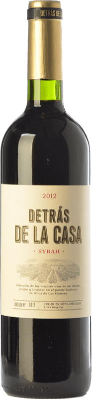 12,95 € | Red wine Castaño Detrás de la Casa Crianza D.O. Yecla Region of Murcia Spain Syrah Bottle 75 cl
