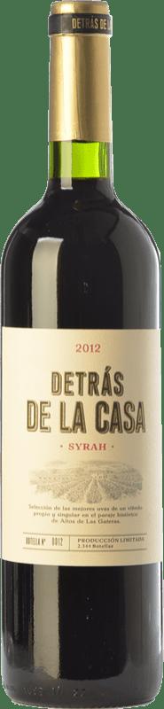 12,95 € Envío gratis | Vino tinto Castaño Detrás de la Casa Crianza D.O. Yecla Región de Murcia España Syrah Botella 75 cl