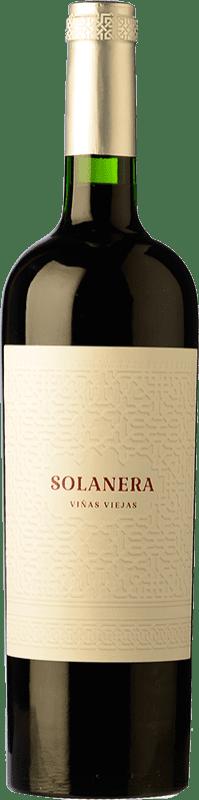 11,95 € Free Shipping | Red wine Castaño Solanera Joven D.O. Yecla Region of Murcia Spain Cabernet Sauvignon, Monastrell, Grenache Tintorera Bottle 75 cl