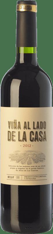 19,95 € Envío gratis | Vino tinto Castaño Viña al Lado de la Casa Crianza D.O. Yecla Región de Murcia España Syrah, Cabernet Sauvignon, Monastrell, Garnacha Tintorera Botella 75 cl