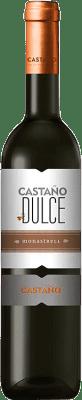 17,95 € Envío gratis | Vino dulce Castaño D.O. Yecla Región de Murcia España Monastrell Media Botella 50 cl