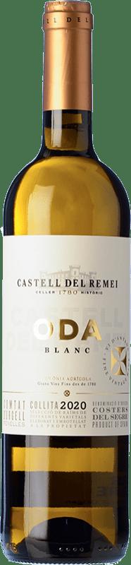 9,95 € | White wine Castell del Remei Oda Blanc Crianza D.O. Costers del Segre Catalonia Spain Macabeo, Chardonnay Bottle 75 cl