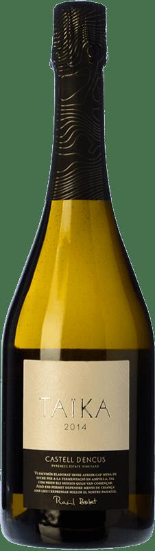 49,95 € Envoi gratuit | Blanc moussant Castell d'Encús Taïka D.O. Costers del Segre Catalogne Espagne Sauvignon Blanc, Sémillon Bouteille 75 cl