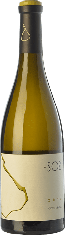21,95 € Envoi gratuit | Vin blanc Castell d'Encús SO2 Crianza D.O. Costers del Segre Catalogne Espagne Sauvignon Blanc, Sémillon Bouteille 75 cl